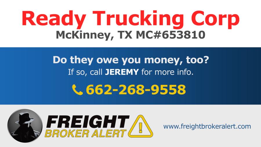 Ready Trucking Corporation Texas