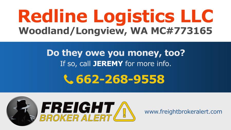 Redline Logistics LLC Washington