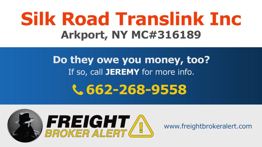 Silk Road Translink Inc New York