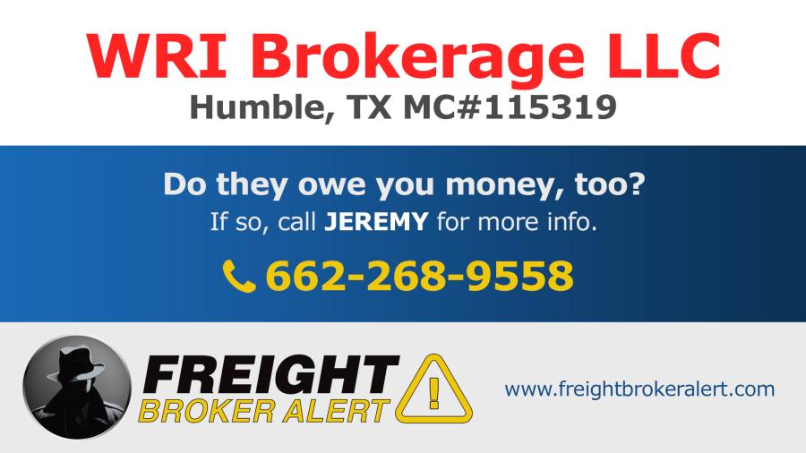 WRI Brokerage LLC Texas