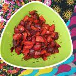 Saisonfrüchte  & Dessertkräuter …