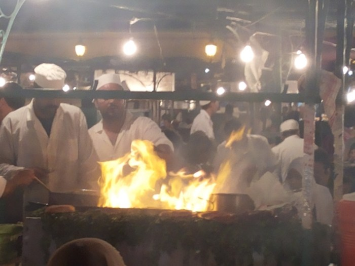 Streetfood Marrakech: Merguez Grill