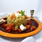 "Surreal Food Pairing: Blumenkohl ""Couscous"""