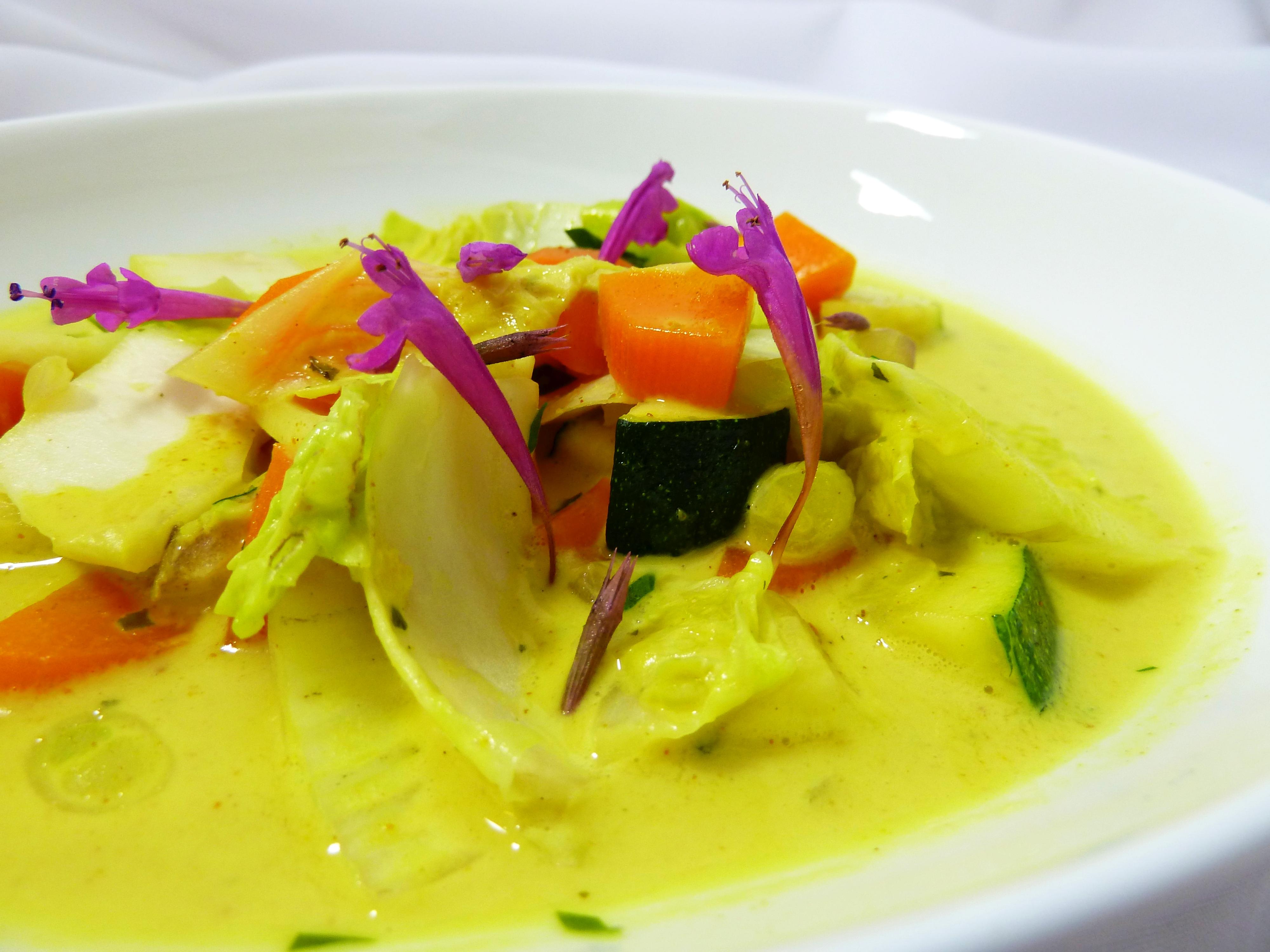 Vegan Curry Kokos Gemüse