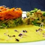 Fixer Designer-Zuschnitt: Curry-Gemüse nach Indischer Art