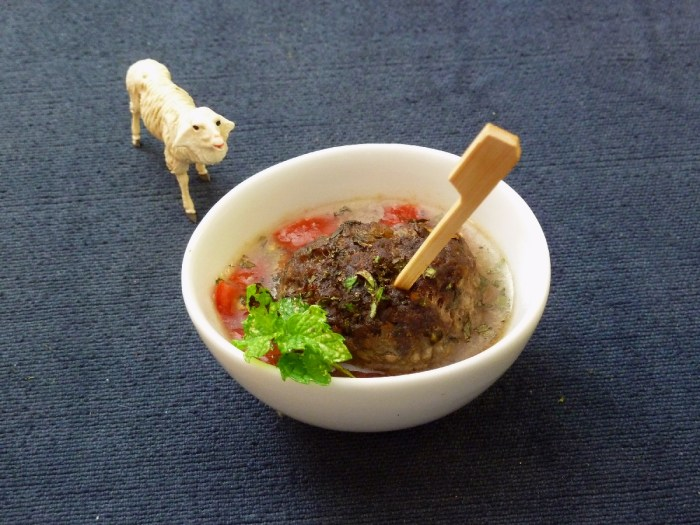 MinzeSauce Lamm hackfleischbällchen Fingerfood 1