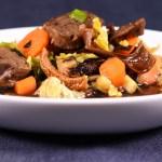 Miso Suppen Style: Rindfleisch |Gemüse |Nori |Olivenblätter