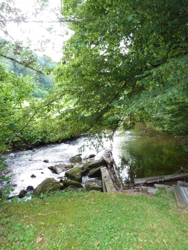 Bach Teichbewässerung