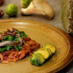 Alpenländische Küche (IV): Bunter Rösti mit Wintergemüse und Pilzen