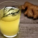 Fermentierte Ingwer-Kräuter-Limonade