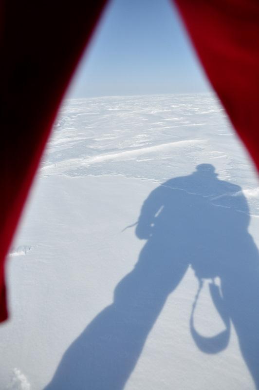 Schnee in Grönland