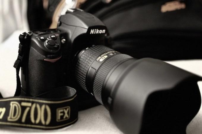 D700 mit Nikkor Standardlinse