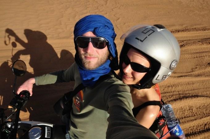 Auf durch die Wüste