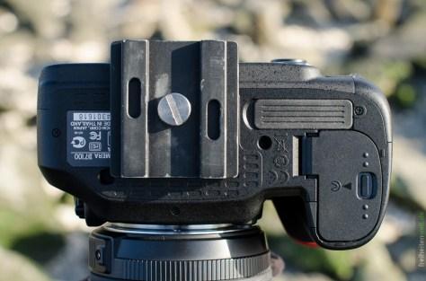 D7100 mit Stativplatte Feisol