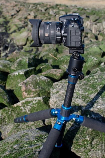 Nikon D7100 auf Feisol Stativ