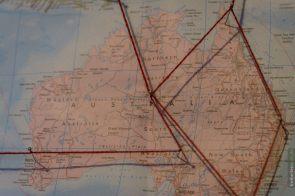 Australien Route Freiheitenwelt