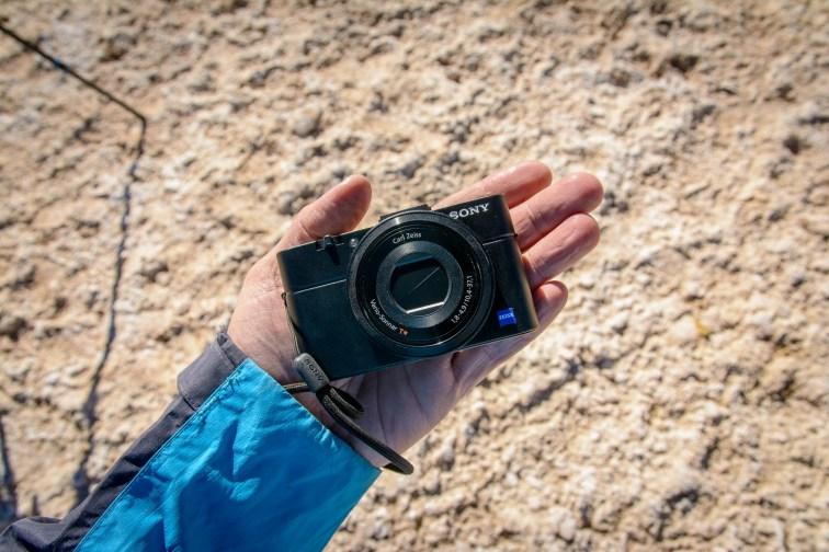 Sony RX100 II Hand