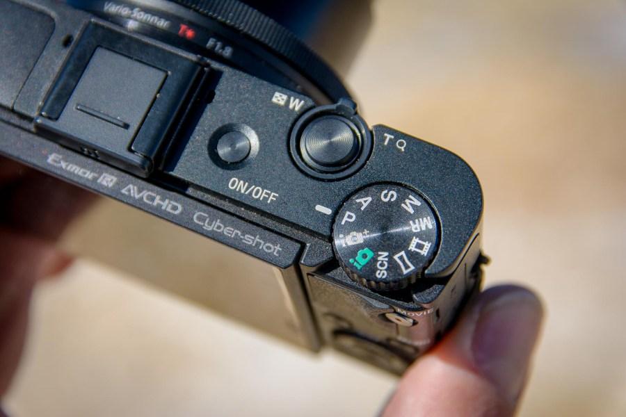 Sony RX100 II Wahlrad