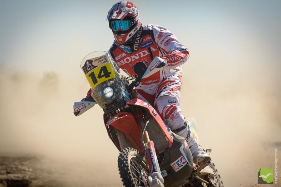 Dakar 2014 Motorrad