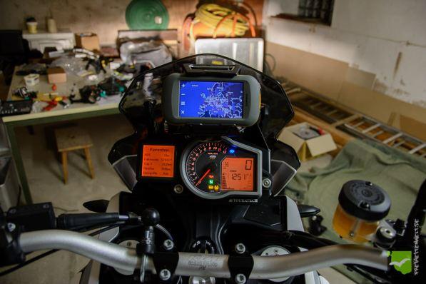 GPS, Motorrad