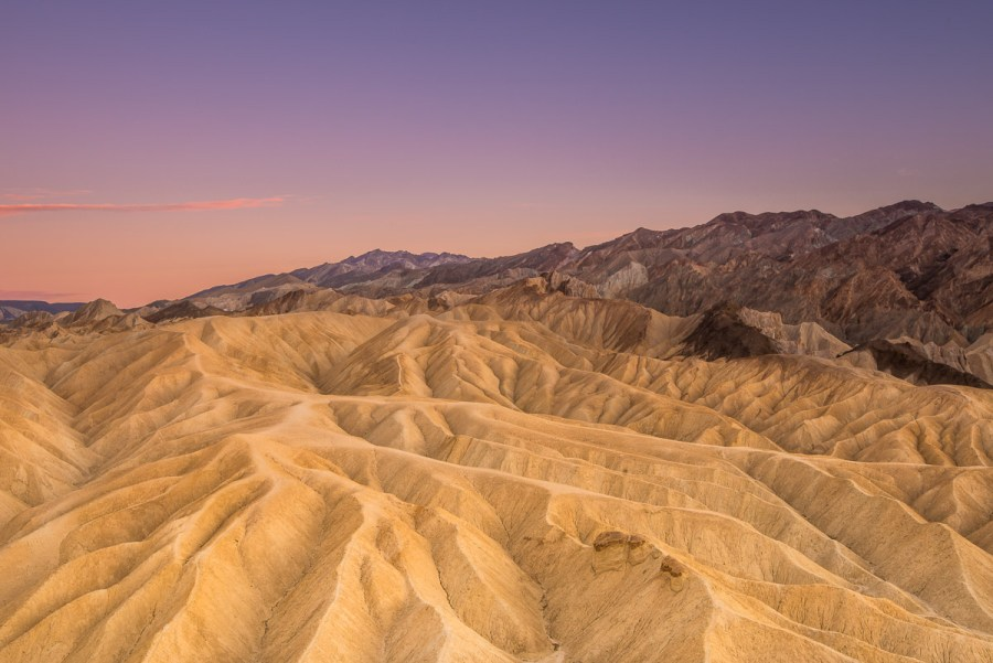 Zabriskie Point im Death Valley Nationalpark