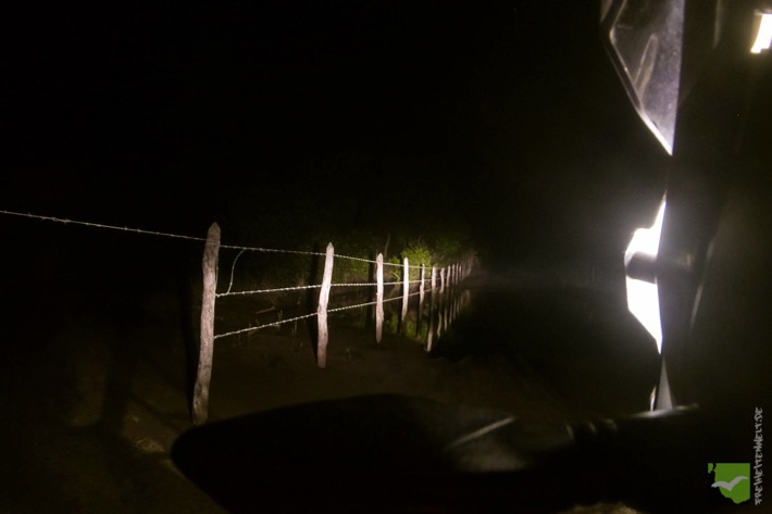 Tiefes Wasser zur Nacht - eine Herausforderung