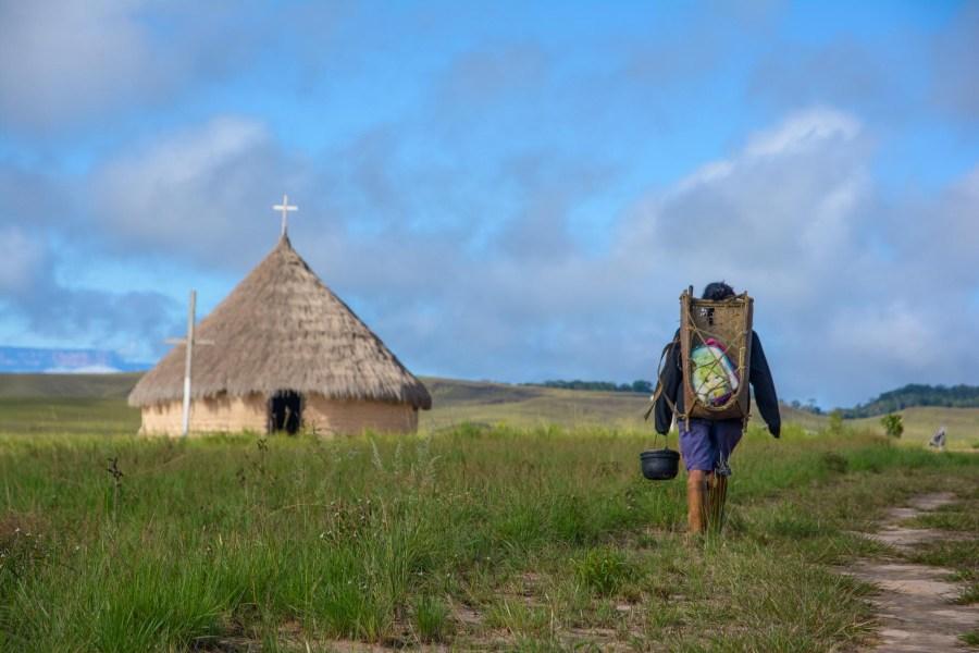 Die kleine Dorfkirche