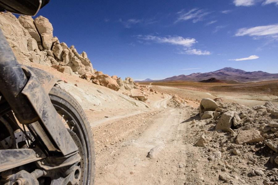 Straße Altiplano