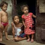 Absolute Zerstörung der Favela do Jaragua