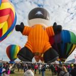 600 Heißluftballons – Hot Air Balloon Festival – Albuquerque USA