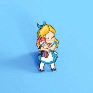Alice and The Queen pin