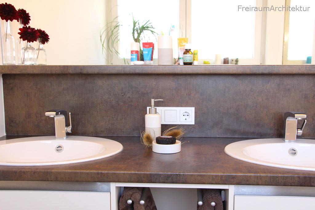 Badgestaltung Waschbecken