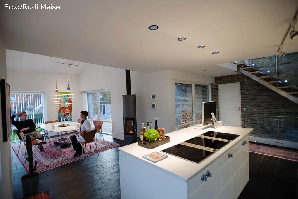Hausbau Lichtplanung Modell : Stimmungsvolle lichtplanung mit led freiraumarchitektur