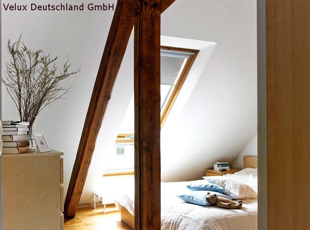 Schlafzimmer Unterm Dach Mit Sichtbalken