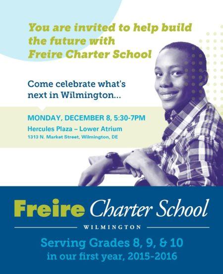 Invite Dec 8th Launch Freire
