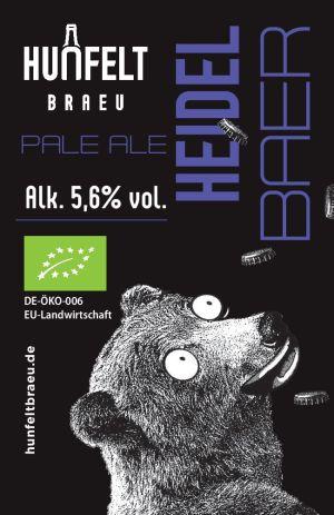 HUNFELT BRAU HEIDEL-BAER 330 ml, 5,6% vol.