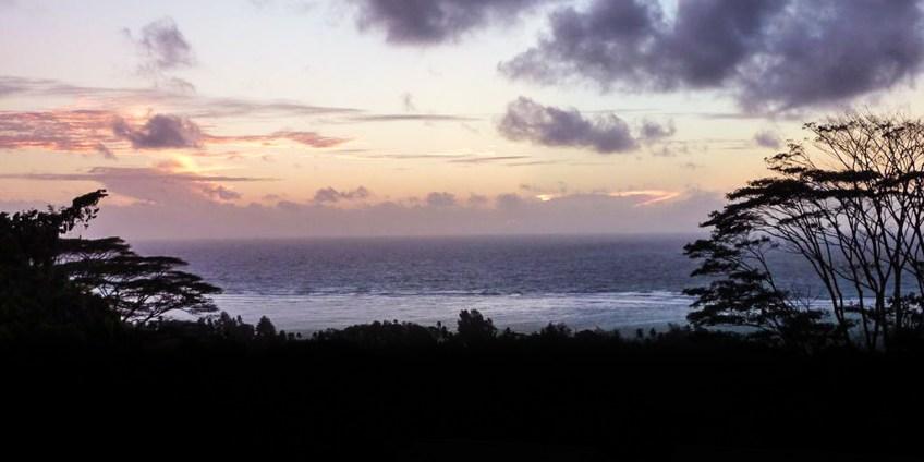 Seychellen - Blick von der Veranda