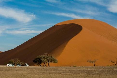 Riesige Dune 45 in der Namib bei Sossusvlei