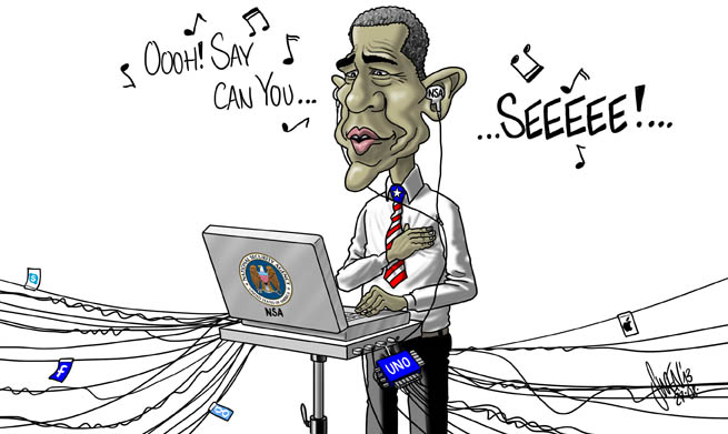 Hymne USA & NSA Abhörskandal