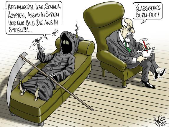 Syrien: Bald neuer Brandherd im Nahen Osten? (USA)