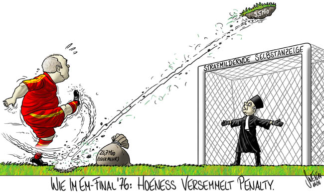 Bayern: Uli Hoeness Steuerhinterziehung