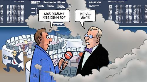 Die VW-Aktie gibt Vollgas