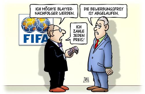 FIFA: Blatter-Nachfolger