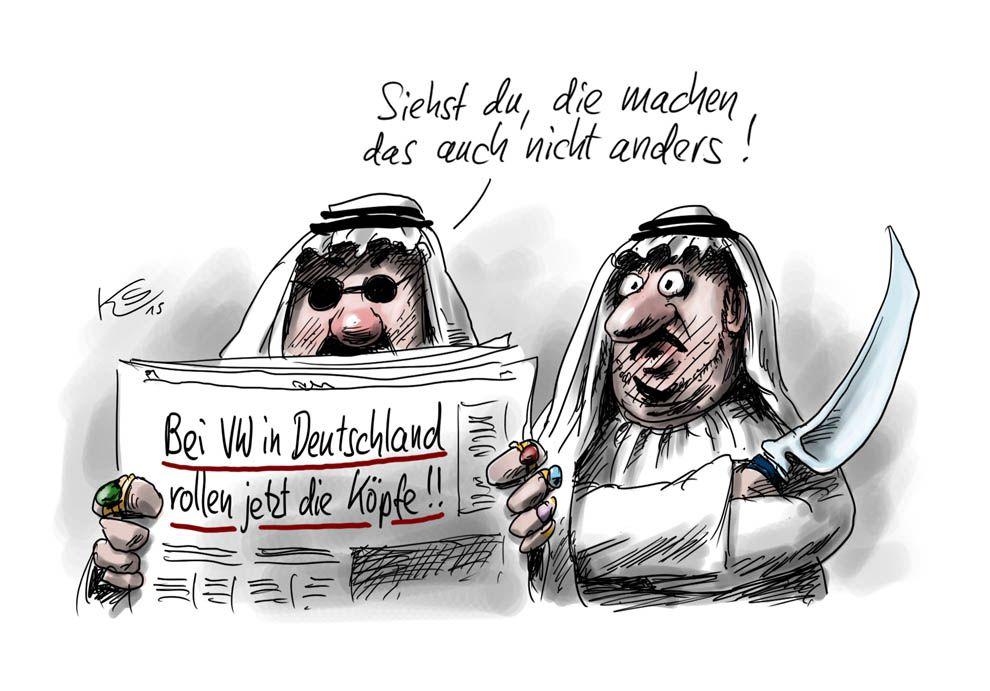 IS & VW: Köpfe rollen