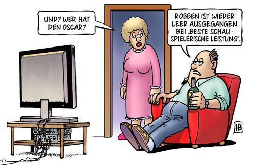 Oscar: Leonardo DiCaprio vs. Arjen Robben