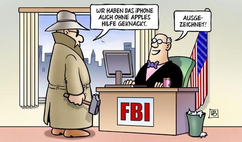 Apple vs. FBI: iPhone geknackt