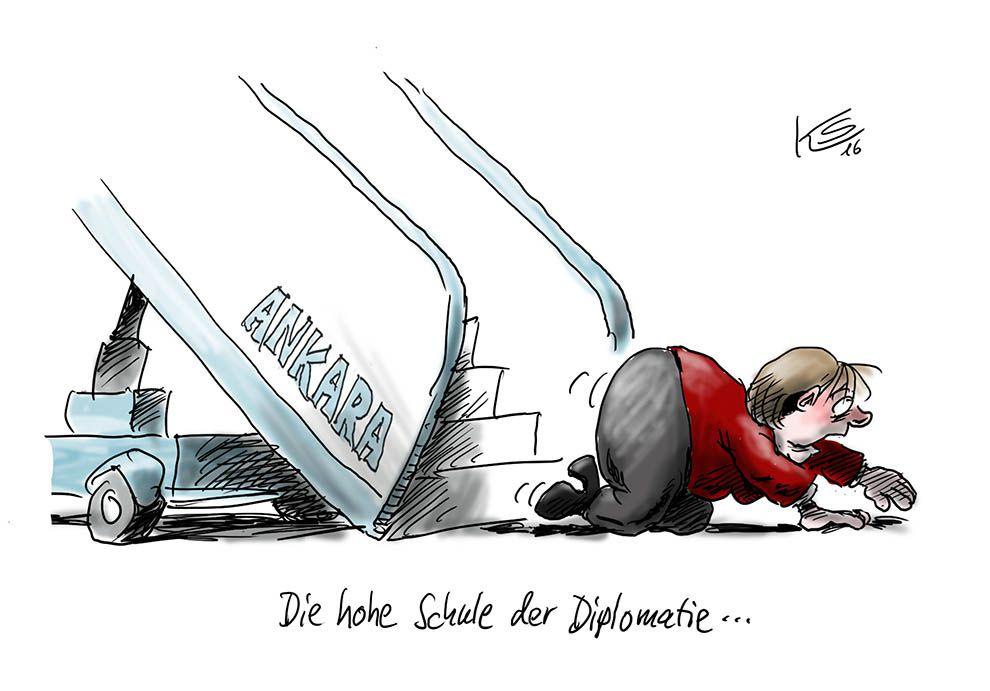 Merkel vs. Erdogan: Die hohe Schulde der Diplomatie