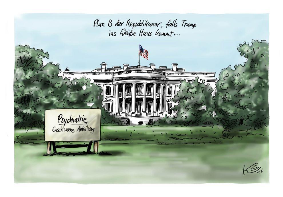 Plan B im Weissen Haus
