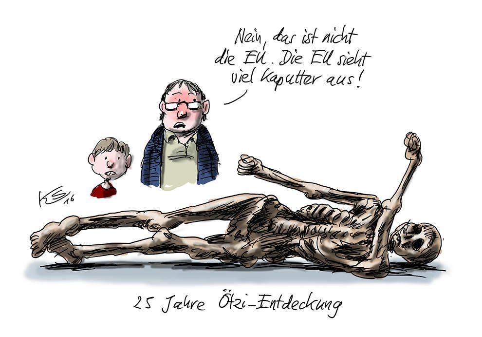 Ötzi oder die EU?