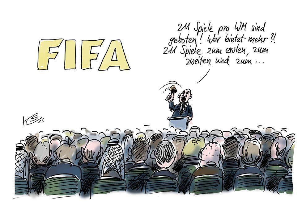 FIFA WM: 48 Mannschaften